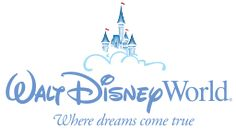 "Both of my daughters recognized this logo when I showed it to them  (ages 2 and 3.5).  Disney World is THE PLACE ""where dreams come true.""  Disney has done such a wonderful job at branding for their young audience in every thing they do (from movies, to toys, to theme parks, etc).  This magical, dreamy, exciting, happy, fun brands speaks to children, and to their parents who want their kids to ""experience the magic."""