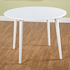 Amazon.com - Target Marketing Systems Round Florence Table, 42-Inch, White - Tables