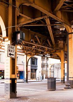 Photo: VanBuren & Wells, under El Tracks