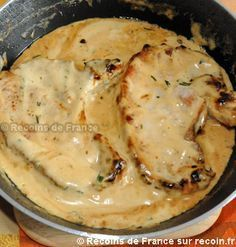 Recipe Pork ribs with mustard sauce on Recoin.fr- Pork ribs with mustard sauce Extra - Sauce Recipes, Pork Recipes, Chicken Recipes, Cooking Recipes, Healthy Recipes, Super Dieta, Good Food, Yummy Food, Recipes From Heaven