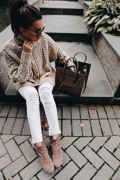 Pinterest : 25 façons de porter du blanc cet hiver | Glamour
