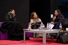 Panel discussion during the Rencontres Internationales Paris/Berlin/Madrid in Paris at the Centre Pompidou, November 29th 2010. With Sandrine Colas from the Centre National de l´Audiovisuel - In charge of the multimedia library - Luxembourg, Angela Martinez Garcia from the Centre de Cultura Contemporània de Barcelona - In charge of the audiovisual and multimedia department - Spain, and Patricia Lira from the Centro Cultural Banco do Brasil - Audiovisual department - Brazil.