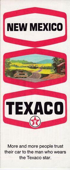 1969 Texaco New Mexico Road Map Free U S Shipping Maps