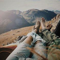 viaje en pareja vista