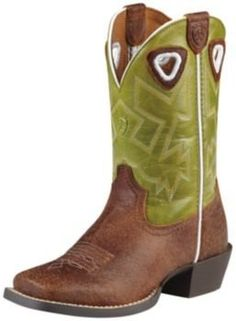 Ariat Kids Charger Boots 1.5 by Ariat. $89.99. Ariat(R) Kid's Charger Boots Charger Western boots are for super-charged kids who go full speed until it's lights out. The full-grain leather upper sports a four-row stitch pattern on the shaft. Reinforced pull holes can take serious tugs. This is a boot that is built to last and provide comfortable room to grow, thanks to a TPR outsole, and Ariat(R)'s 4LR (4 Layer Rebound Stability and Cushioning System) technology. Charge...