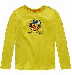 T-shirt dla chłopca. Kolekcja: Kondycja na medal