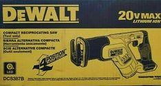 DEWALT Power Saws for sale | In Stock | eBay Dewalt Drill, Dewalt Tools, Cordless Reciprocating Saw, Reciprocating Saw Blades, Saw Tool, Home Workshop, Ebay, Ideas, Compact