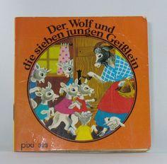 Der Wolf und die sieben jungen Geißlein. Nach einem Märchen der Brüder Grimm - Pixi Buch Nr. 323 von Gerti Mauser-Lichtl http://www.amazon.de/dp/3551033234/ref=cm_sw_r_pi_dp_PnCIub1B3548P