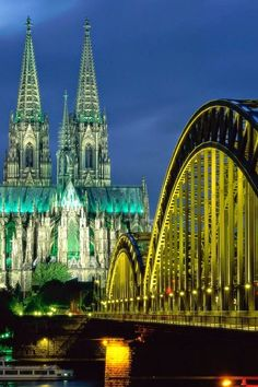 Cologne Cathedral, Germany http://www.tauck.com/tours/europe-tours/central-and-eastern-europe-tours/rhine-river-cruise-ran-2016.aspx