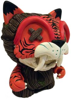 'Jungle Fever' by RxSeven is an amazing custom Trikky with removable mask.