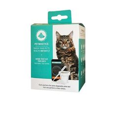 Turn your smartphone into an instant health check-up for your furry pal with the Petnostics Cat Urine Test Kit. Simply collect your cat's urine with the included urine-collecting cat litter, add the urine to the cup and scan the lid with your iOS or Android smartphone using the free Petnostics mobile app. Then, just watch the app instantly analyze the results on your phone's screen! It's the same accurate, diagnostic urine test that vets use and trust, with the convenience of never having