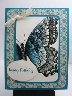 Birthday Card (Swallowtail)