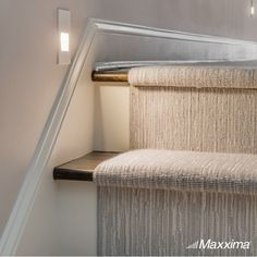 Maxxima vertical LED step lights can be installed as indoor or outdoor lighting. Common applications include inside stairwells, patio steps and decking lights. Outdoor Steps, Patio Steps, Indoor Outdoor, Indoor Stair Lighting, Outdoor Lighting, Led Step Lights, Interior Lighting, Stairs, Interior Design