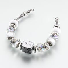 Bride Charm Bracelet. This is pretty I'm getting this for my wedding.