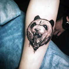 100 Panda Bear Tattoo Designs For Men – Idées Manly encre