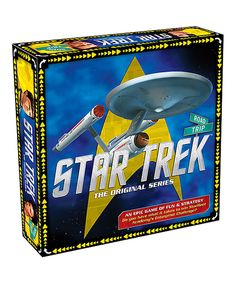 This Star Trek Road Trip Board Game by NMR Distribution is perfect! #zulilyfinds