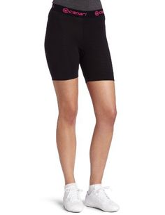 Canari Gel Liner Cycling Short Womens(Black with Pink trim.)SM Canari $29.95  Fleece-lined gel padding, durable polyester mesh fabric. Machine wash/dry.