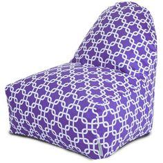 Purple Links Kick-It Chair