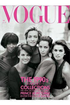 Nineties Supermodels Versace Show Naomi Campbell (Vogue.co.uk)