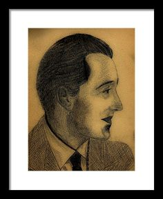 Male Framed Print featuring the drawing Male Profile by Cuiava Laurentiu Male Profile, Poster Prints, Framed Prints, Guy Drawing, Frame Shop, Hanging Wire, Wood Print, Clear Acrylic, Fine Art America