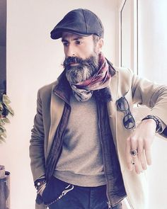 The style of this bearded gent is simply spot on. You can deny it! #staybearded…