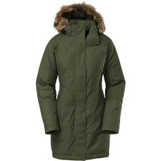 The North Face Arctic Down Parka ($299) ❤ liked on Polyvore featuring the north face