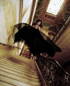 Fly,Dior Spring Collection, Harper's Bazaar, Paris, 1965 ©Melvin Sokolsky