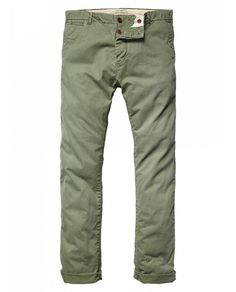 Jagger - Basic chino pants - Scotch & Soda Mens Chino Pants, Jeans Pants, Khaki Pants, Trousers, Shorts, Green Pants Men, Dapper Dan, Twill Pants, Dress Collection