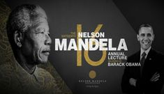 The Nelson Mandela Foundation and The Obama Foundation announced that President Barack Obama will deliver the Nelson Mandela Annual Lecture, in partnership with the Motsepe Foundation, in Johannesburg in July Nelson Mandela Foundation, International Day, Barack Obama, Presidents, Magazine, Cover, Design, Magazines
