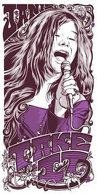"""""""Take It"""" [Janis Joplin], screenprint; limited-edition of 100 *by joshua budich: *""""Take It"""" [Janis Joplin]… Janis Joplin, Rock And Roll, Pop Rock, Rock Posters, Band Posters, Art Hippie, Acid Rock, Rock Legends, Poster On"""