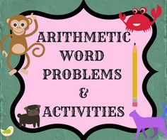 These are Arithmetic activities which form as a great resource for homeschooling parents and teachers and help the kids have fun while keeping them engaged. These are PRINT arithmetic activities. They require NO PREP. Just print and hand out. They are designed to make students apply their arithmetic skills like addition, subtraction, multiplication, division and equation balancing.