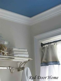 Did you hear? Accent ceilings are the new accent walls.
