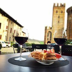 Aperitivo a Castell'Arquato - Instagram by fraoro