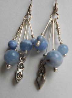 Blue Goddess Earrings