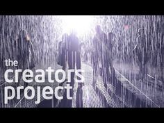 The Making of the 'Rain Room' Interactive Water Installlation