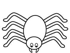 Spider Coloring Page | Worksheets, Spider and Kindergarten