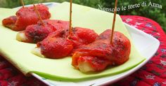 Involtini di peperoni in padella | Non solo le torte di Anna - Powered by @ultimaterecipe