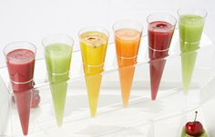 #Summer #Party advice from #WPCatering: fruit soup shooters are as pretty as they are tasty!