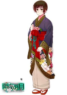 """Hetalia"" - Japan folk costume."