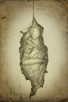 Creepy Drawings by Kirill Semenov http://www.cruzine.com/2013/03/19/creepy-drawings-kirill-semenov/
