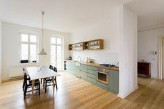 - Own Kitchen Pantry Pantry Design, Kitchen Cabinet Design, Kitchen Interior, Kitchen Decor, Green Kitchen, New Kitchen, Interior Styling, Interior Decorating, Kitchen Stories