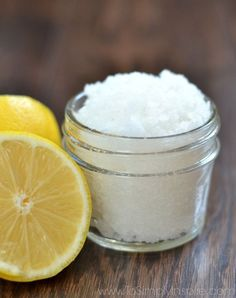 Make this simple and wonderful DIY Lemon Sugar Scrub and leave your skin fresh and glowing. Lemon is rich in antioxidants that your skin will love!