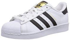 adidas Originals Superstar, Unisex-Erwachsene Skateboardschuhe, Weiß (Ftwr White/Core Black/Ftwr White), 36 EU (3.5 Erwachsene UK) - http://on-line-kaufen.de/adidas-originals/36-eu-adidas-superstar-foundation-herren