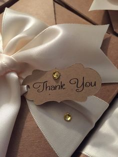 How else can you say thank you to your guest for attending your shower ...