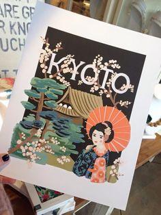 Kyoto Art Print $40