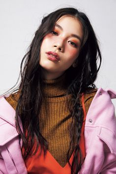 [BEAUTY] Fall heard in beauty Nisuta seven trend make-up & hair vol.1 - NYLON JAPAN
