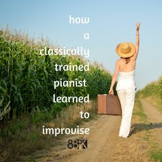 How a classically trained pianist learned to improvise. Great article! I have always used improv, but I might have some students in the future who may need some of these tips :)