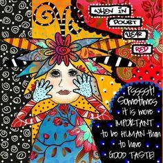 teesha moore artist | Teesha Moore Art Inspiration - Good Taste | Flickr - Photo Sharing!