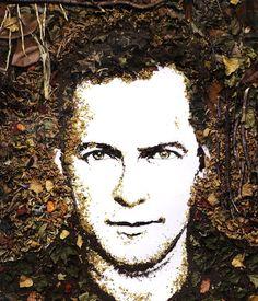 Vik Muniz - Self-Portrait, 2005
