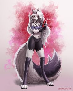 Explore the Anthro foxes, canines collection - the favourite images chosen by WLynx on DeviantArt. Chica Anime Manga, Kawaii Anime, Anime Art, Manga Girl, Anime Girls, Art Drawings Sketches, Animal Drawings, Wolf Drawings, Fantasy Character Design
